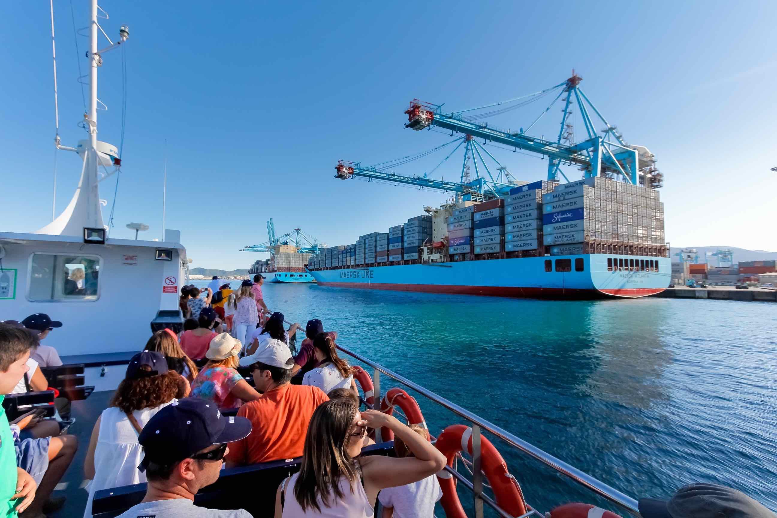 Buen comportamiento del tr fico mar timo en el puerto de algeciras en el pasado mes de mayo - Puerto de algeciras hoy ...