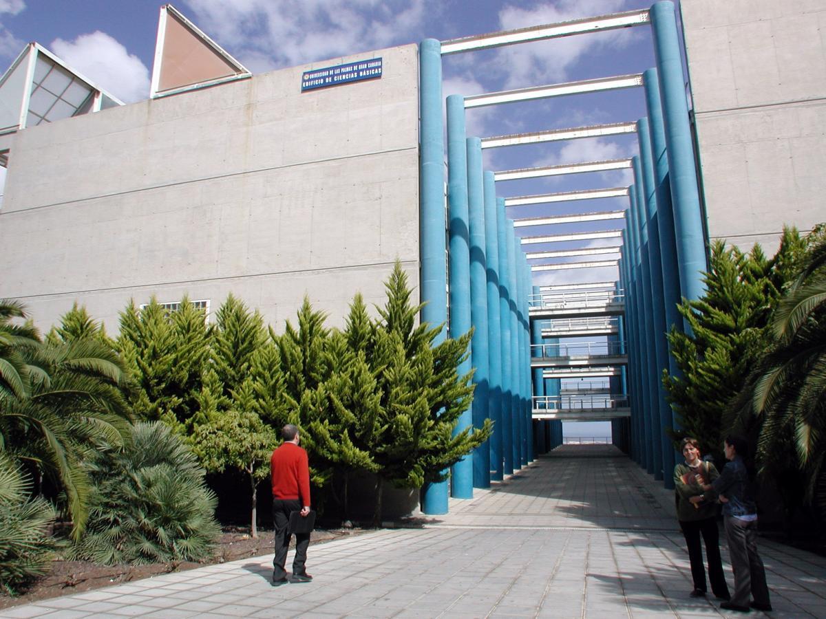 Edificio de ciencias basicas ulpgc