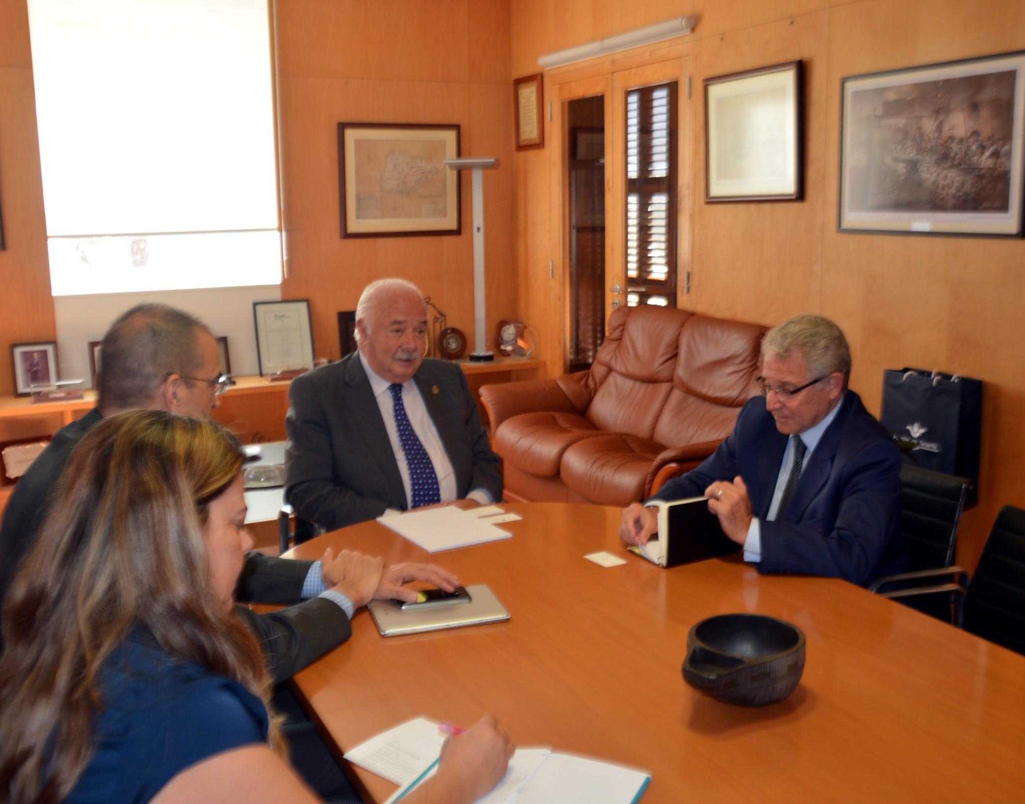 Visita embajador Espaa en Mauritania