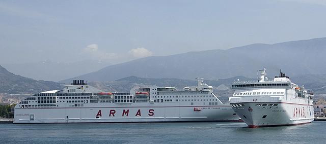 Naviera armas proyecta la construcci n de dos ferries en for Oficinas de naviera armas