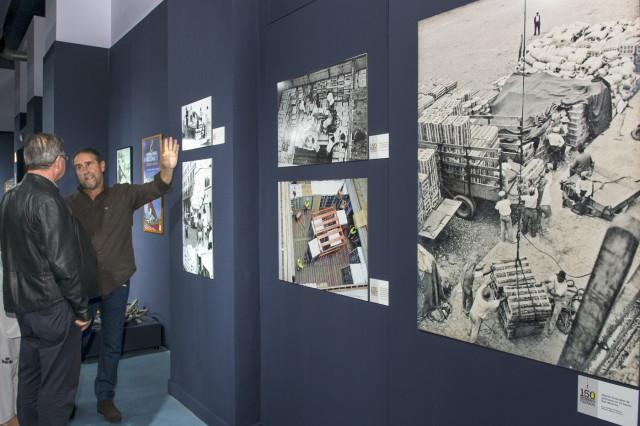Exposición 150 años estibando en Canarias. Foto Mónica Rodríguez