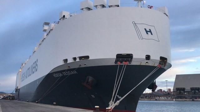 Höegh Autoliners conecta el Puerto de Santander con EE UU