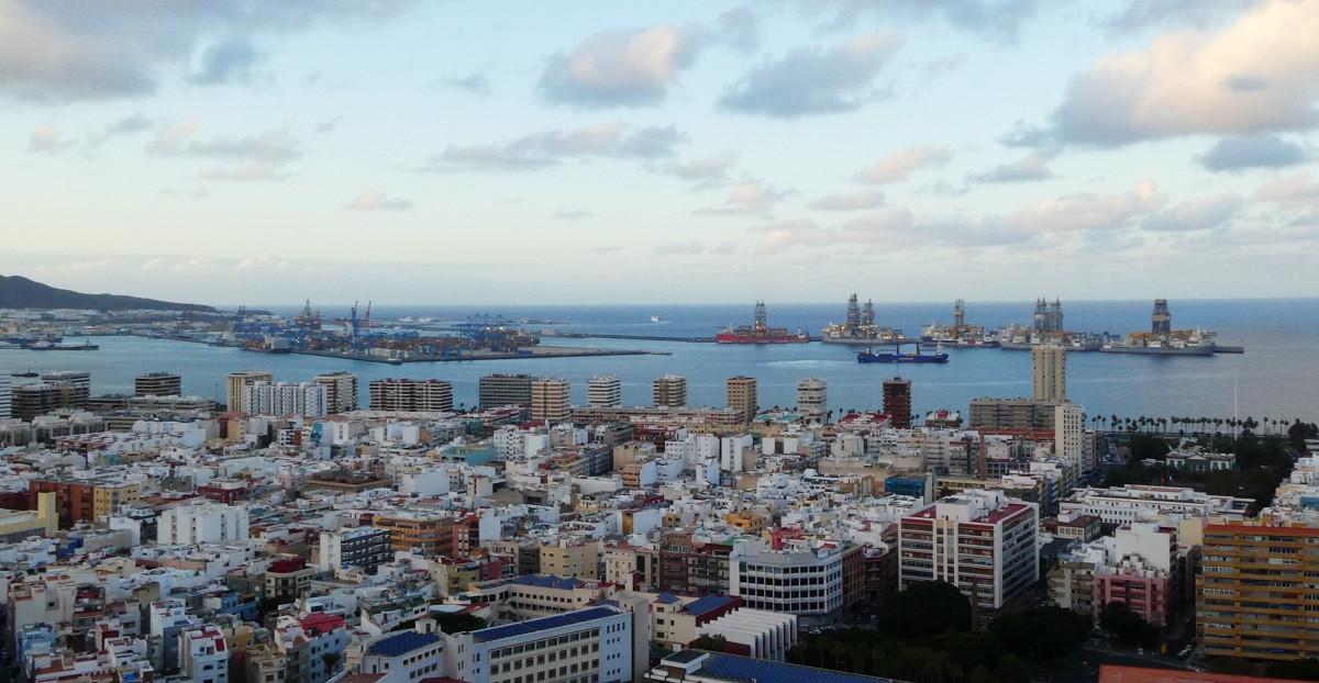 Puerto de Las Palmas   panoramica mayo18