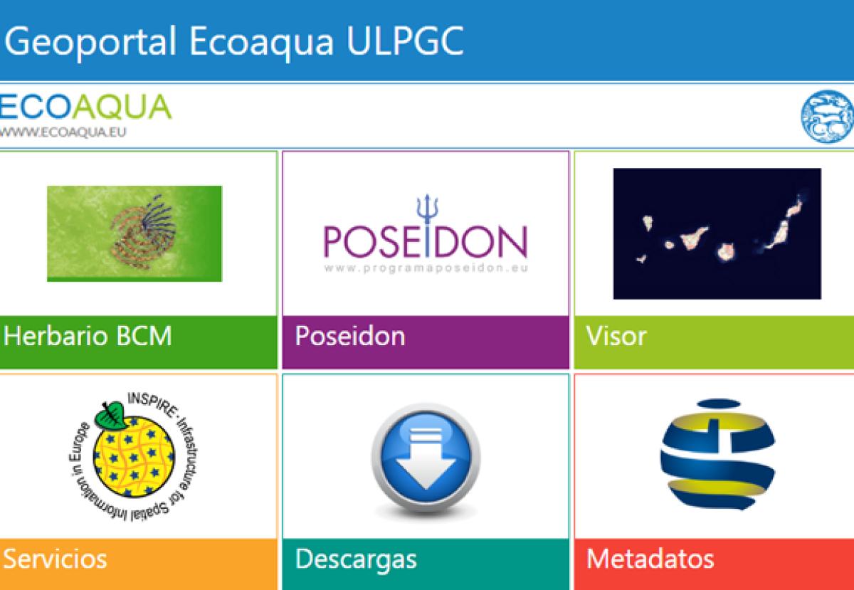 Ecoaqua desarrolla geoportal ulpgc ofrecer informacion ambiental marina canarias