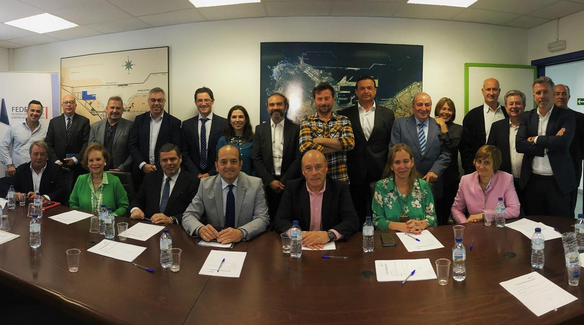 Fedeport  Reunión Presidente de la APLP