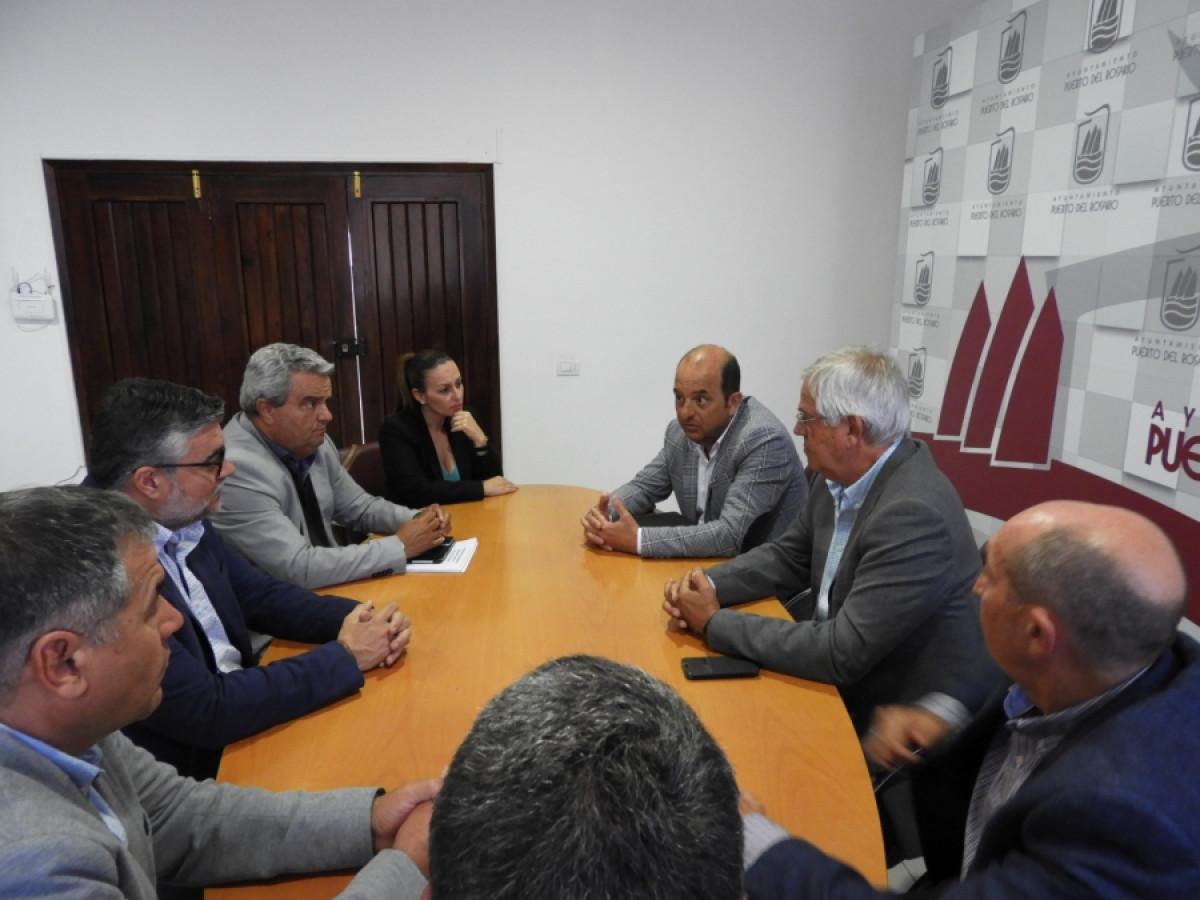 Puertos de Las Palmas    reuniu00f3n Ayto Puerto del Rosario