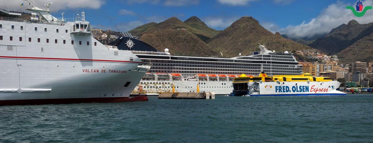 Puertos de Tenerife   trafico pasajeros jun18