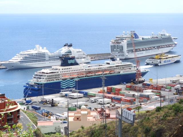 Puertos de Tenerife   Puerto de La Palma
