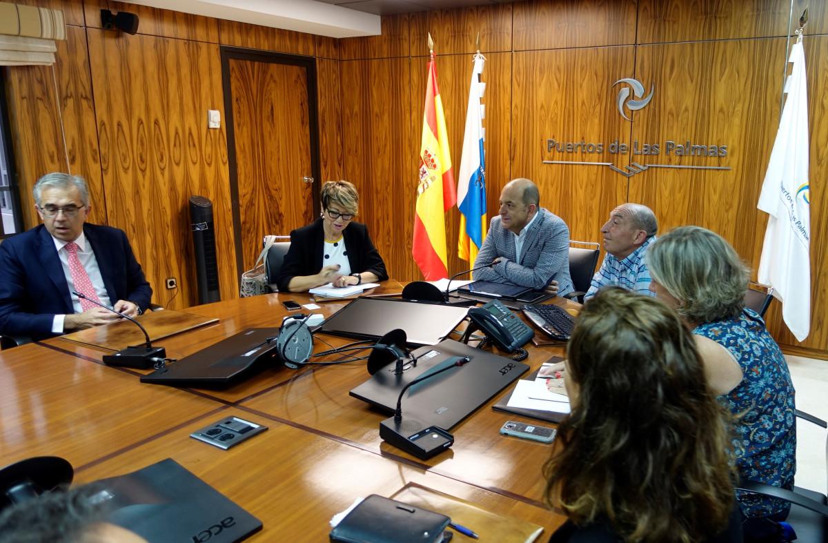 Puertos de Las Palmas   Cardona con AEC