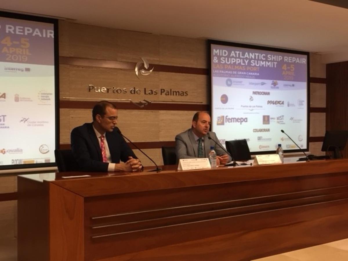 Fundaciu00f3n Puertos de Las Palmas   Presentaciu00f3n cumbre reparaciones2
