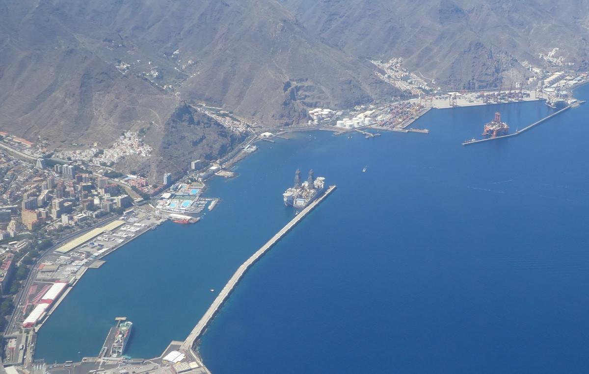 Puertos de Tenerife   panorámica junio18