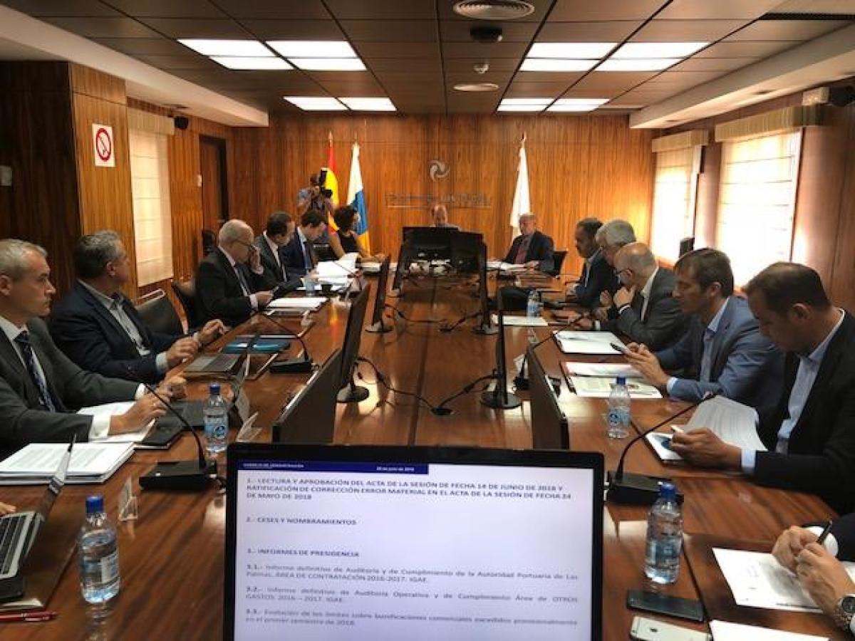Puertos de Las Palmas   Consejo de Administraciu00f3n   jul18
