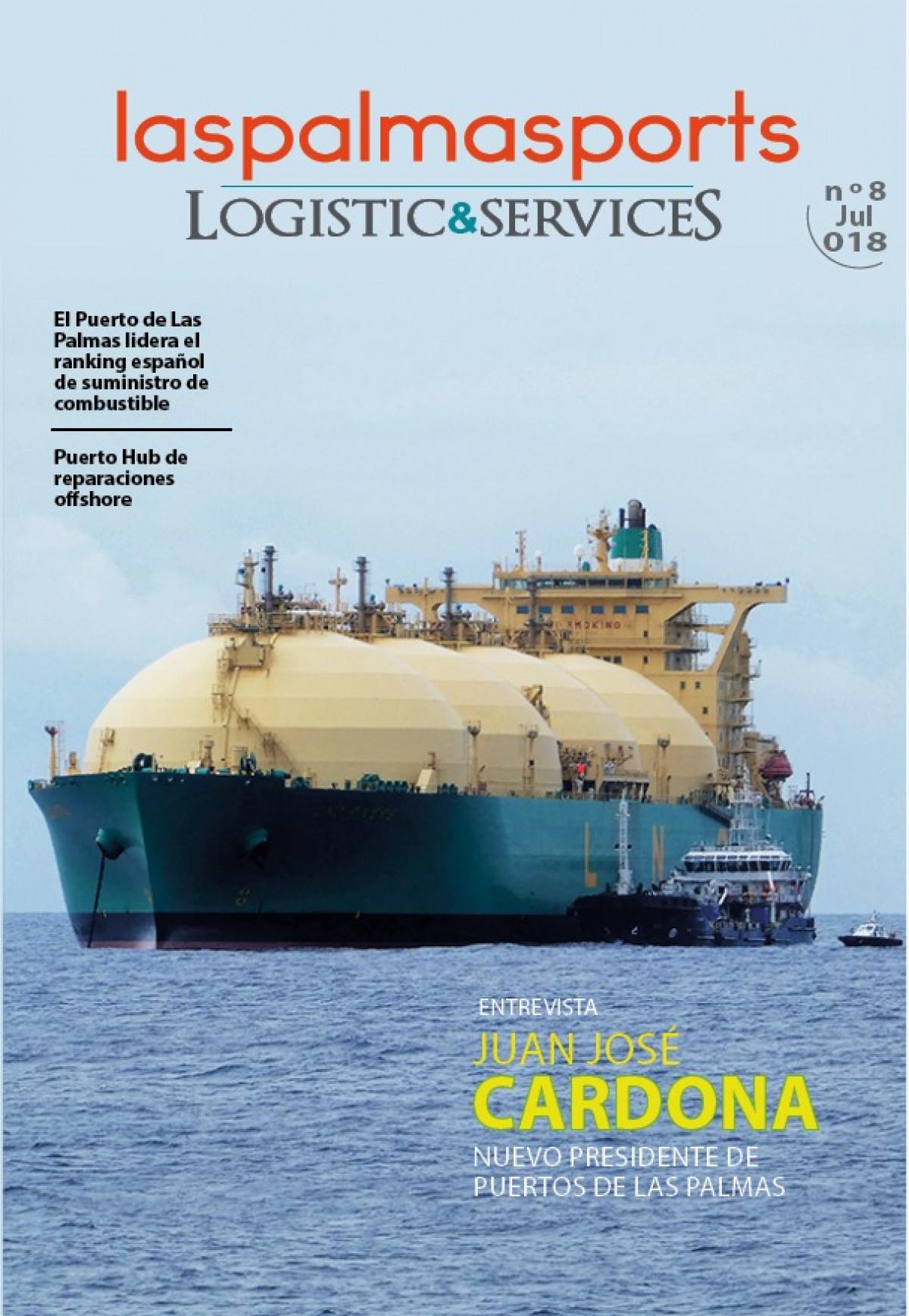 LasPalmasPorts Logistic Services n8   Portada