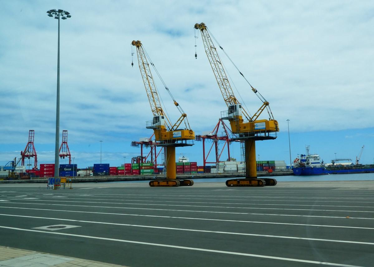 Puerto de Las Palmas   Muelle de Cambulloneros   Explanada