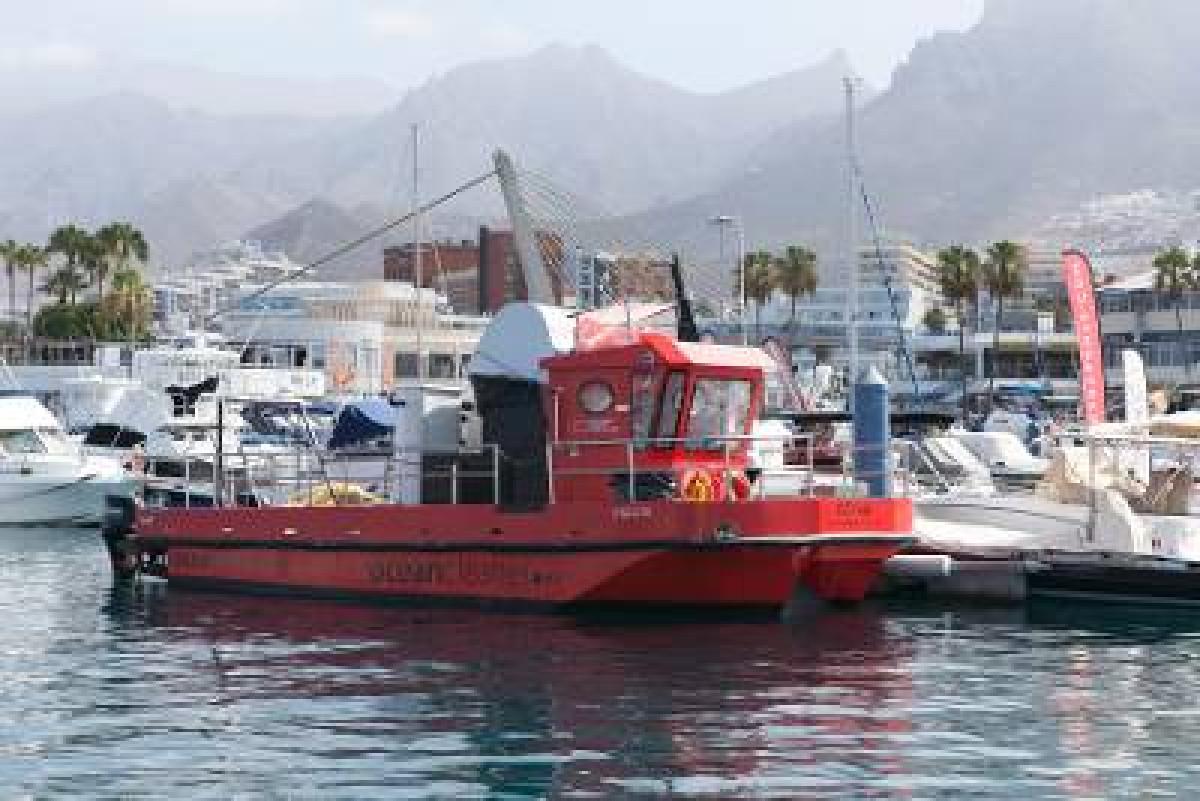 Barco microalgas