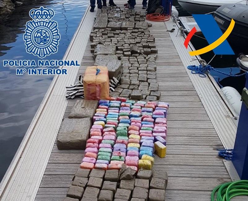 Policu00eda Nacional   Canarias   Droga   Hachis