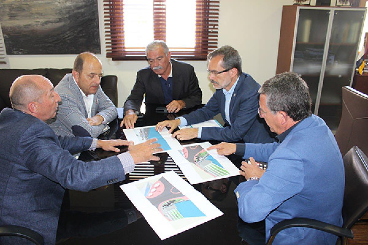 Cabildo de Fuerteventura   reunion autoridad portuaria