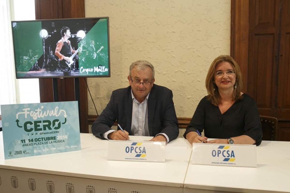 LPGC   Opcsa   Jan Nowak y Encarna Galvan   convenio