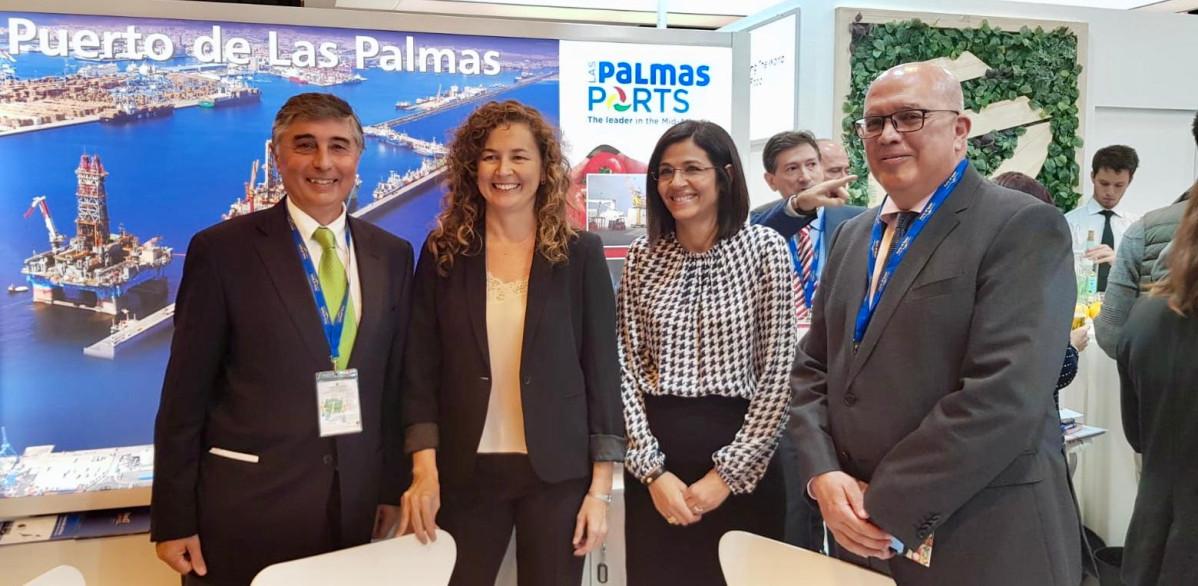 Puertos de Las Palmas   Ornella Chacu00f3n   FruitAttraction