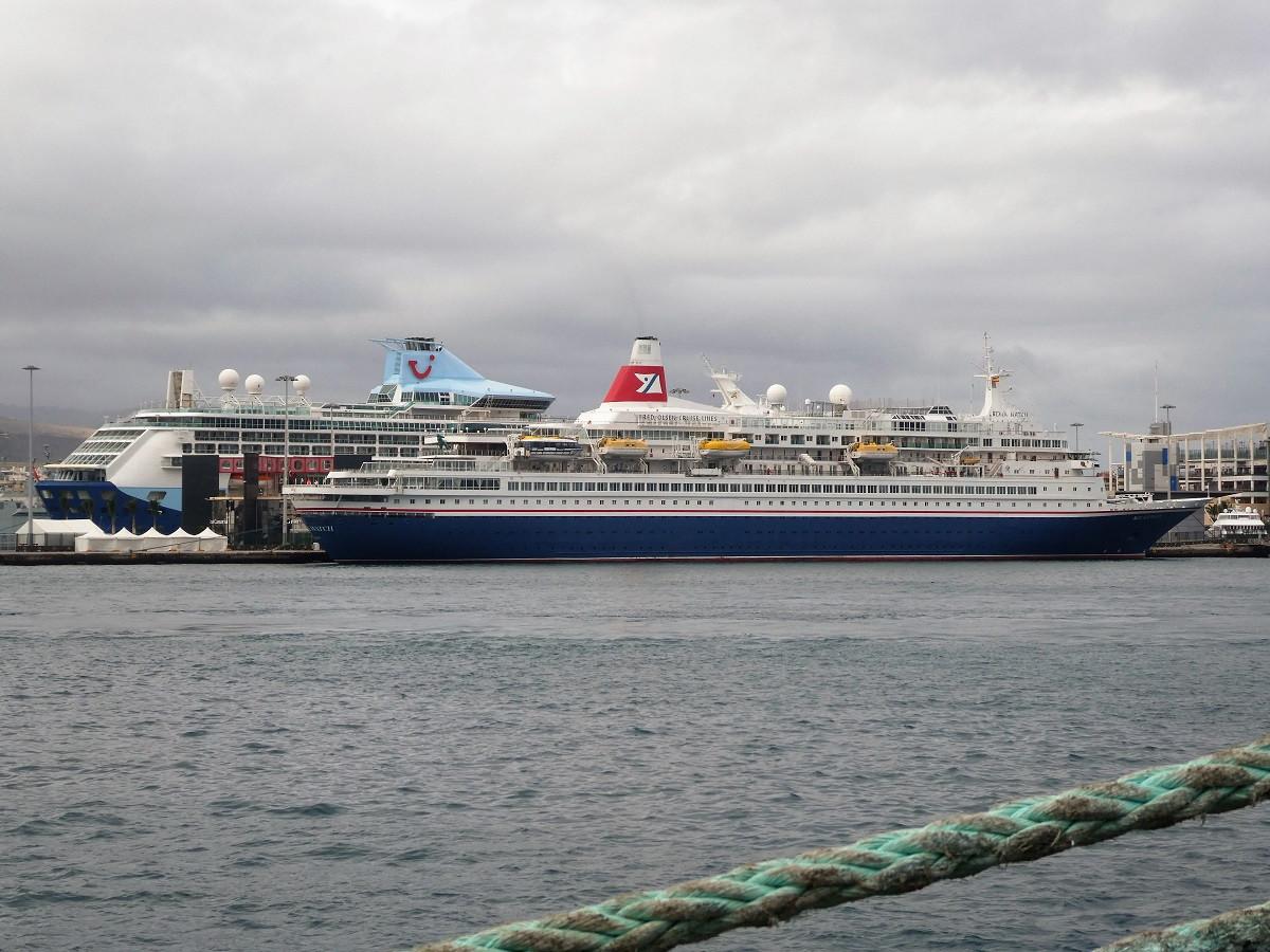 Puertos de Las Palmas    Cruceros nov18