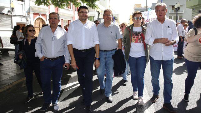 Luis Ibarra PSOE manifestacion Agaete EDIIMA20181112 0203 19