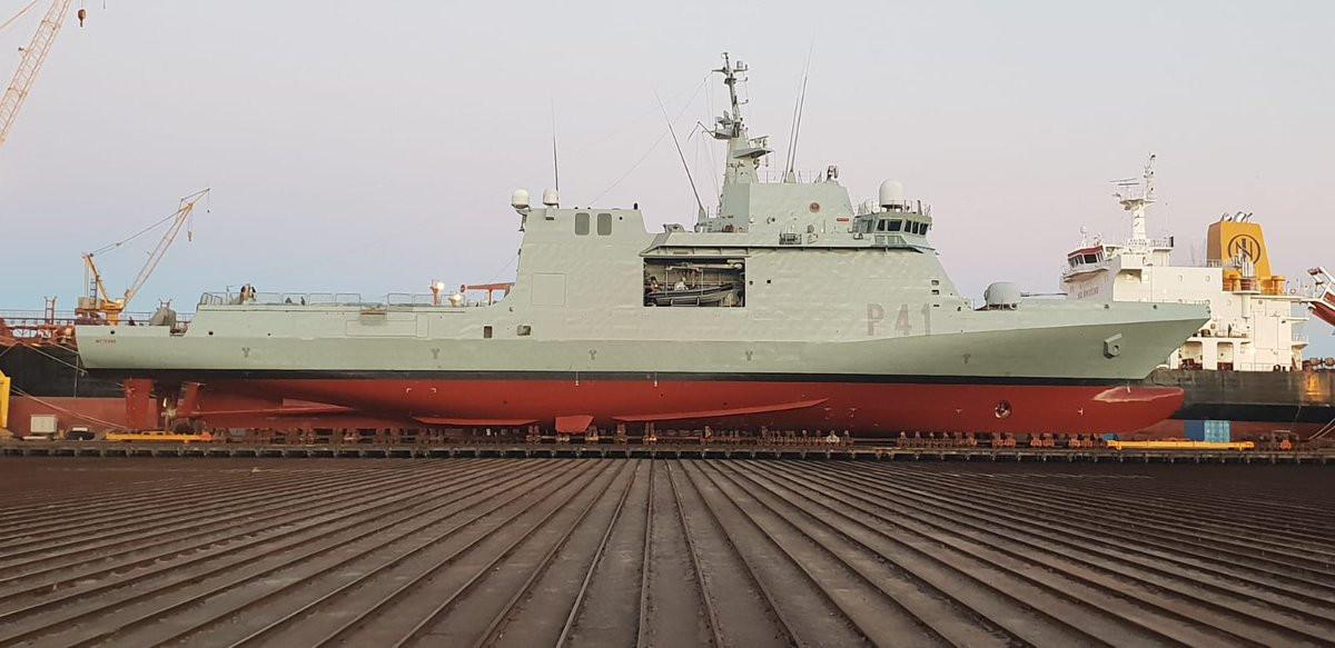 Puerto de Las Palmas   Armada espau00f1ola   Astican   Meteoro