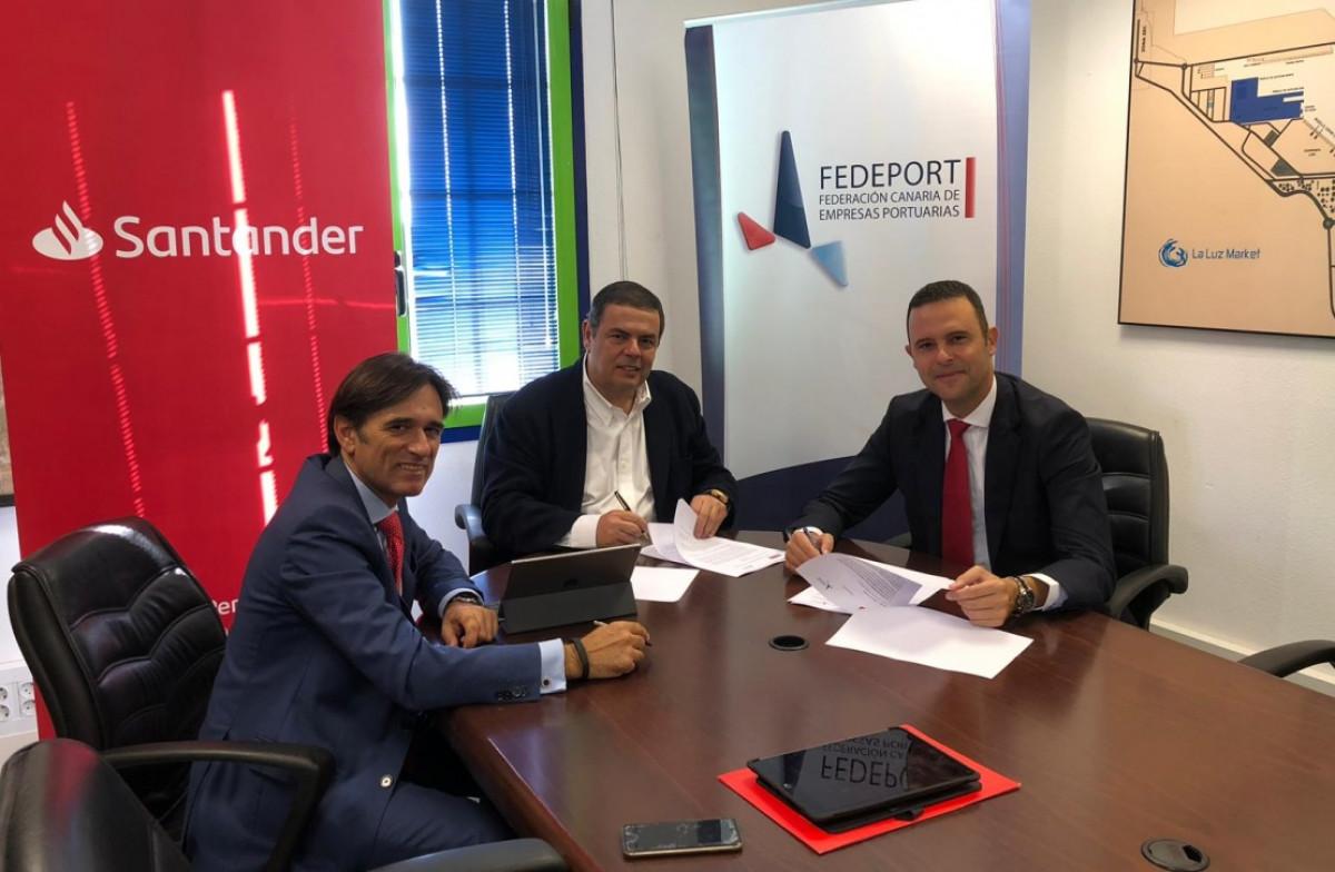 Fedeport   Convenio Banco Santander