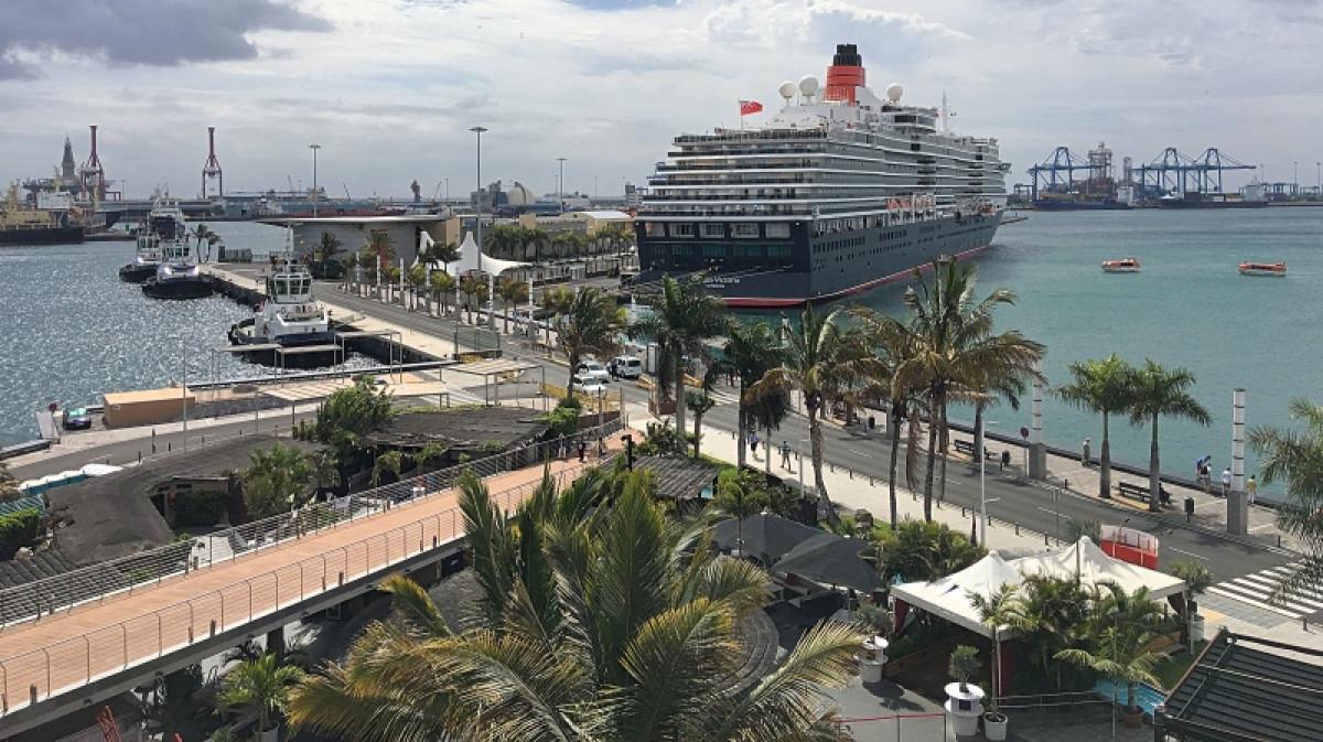 Puerto de Las Palmas   Cruceros   Queen E