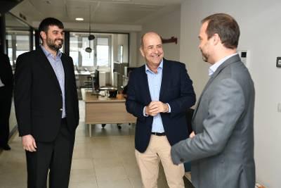 GobCan   Visita Pedro Ortega empresa ZEC EdataConsulting