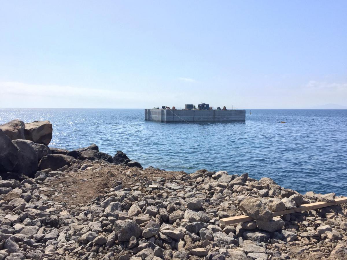 Puerto de Playa Blanca   Caju00f3n