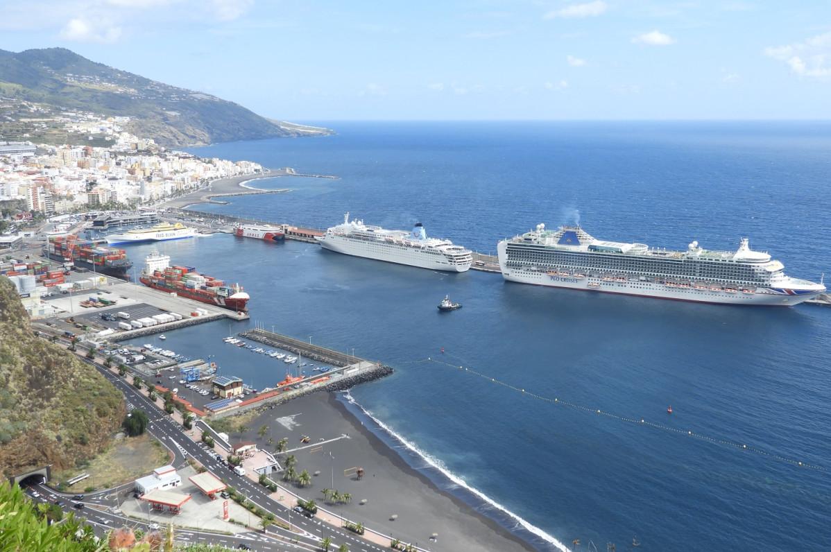 Puerto de La Palma   panoramica mar19