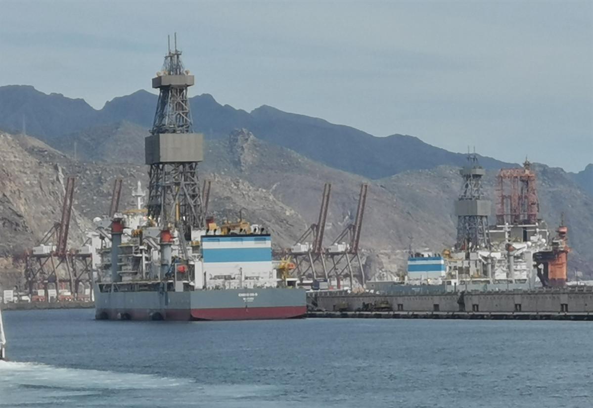 Puerto de Tenerife   Plataformas Dique del Este