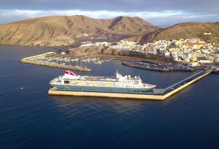 Puertos Canarios   Crucero   Braemar   Puerto de Gran Tarajal   Fred Olsen
