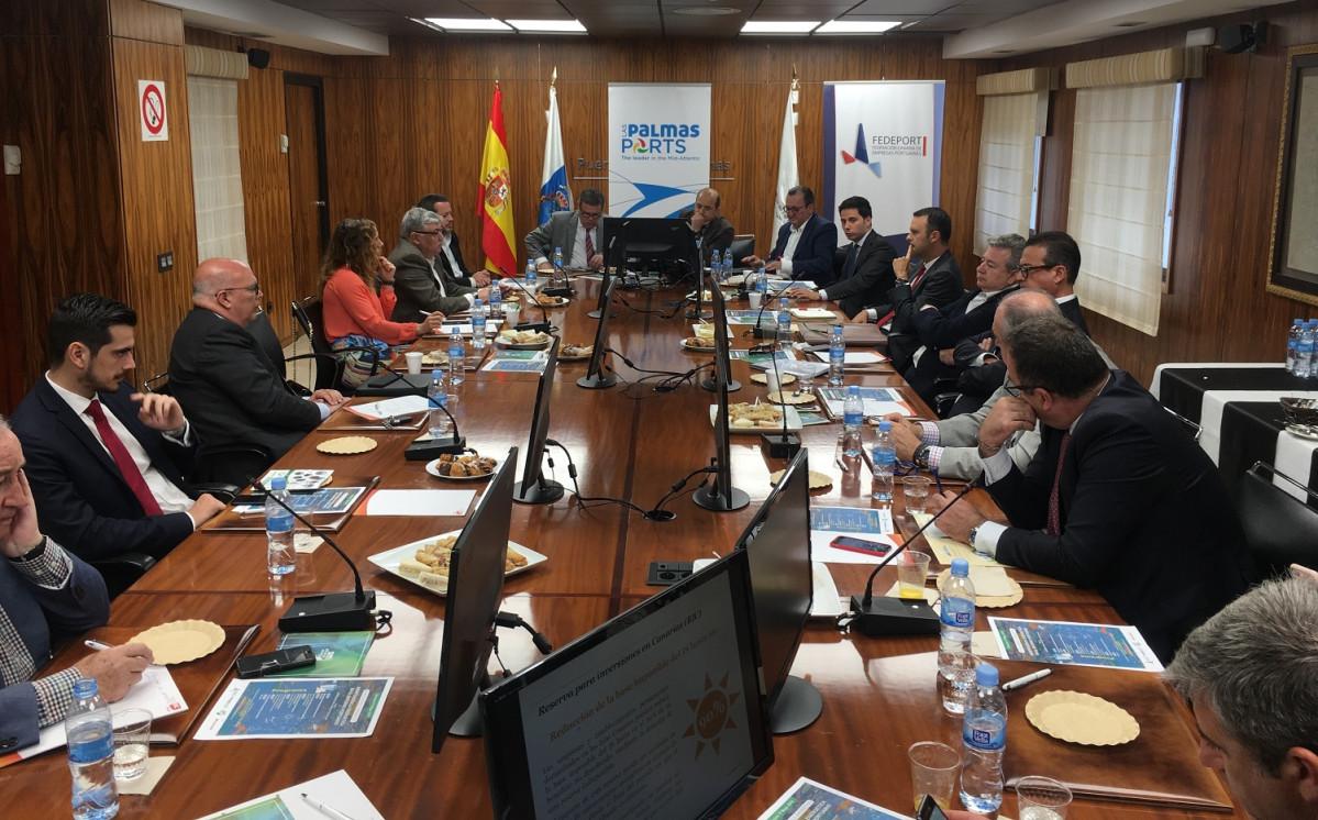 Fedeport   Puerto de Las Palmas   Independencia energu00e9tica   Desayuno tu00e9cnico