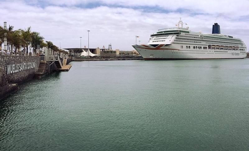 Puerto de Las Palmas   Crucero   Aurora
