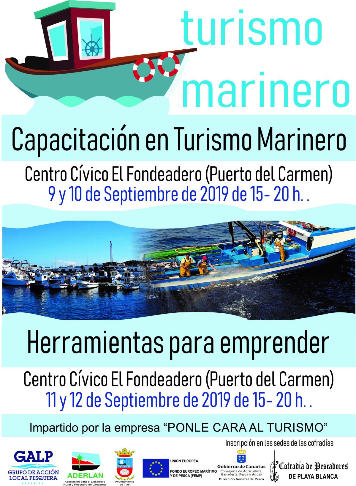 Turismo Marinero   CARTEL CURSOS DE FORMACION