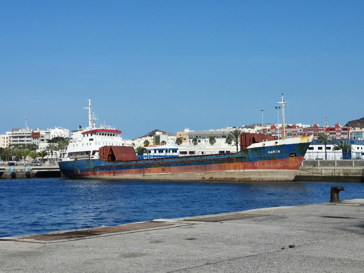 Puerto de Las Palmas   Marin