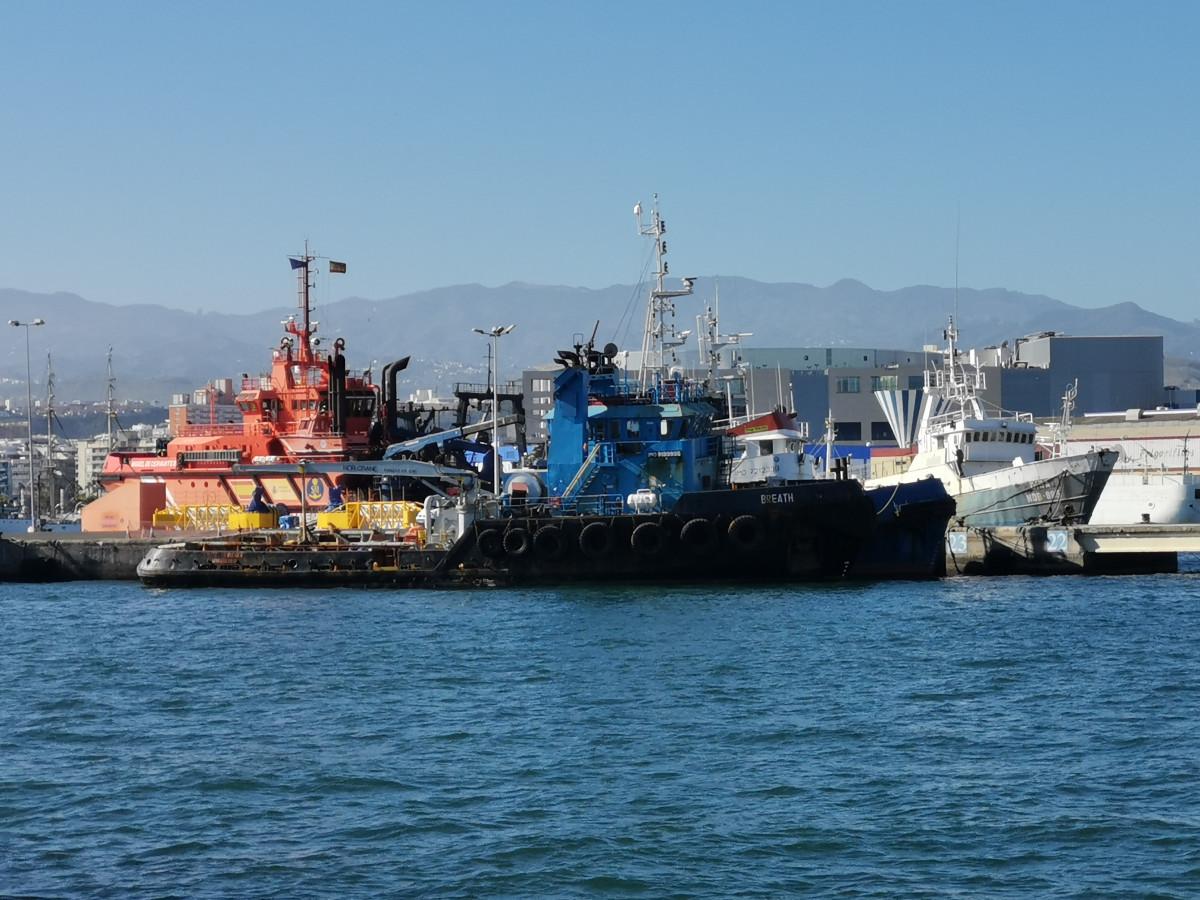 Puerto de Las Palmas   Remolcador Breath