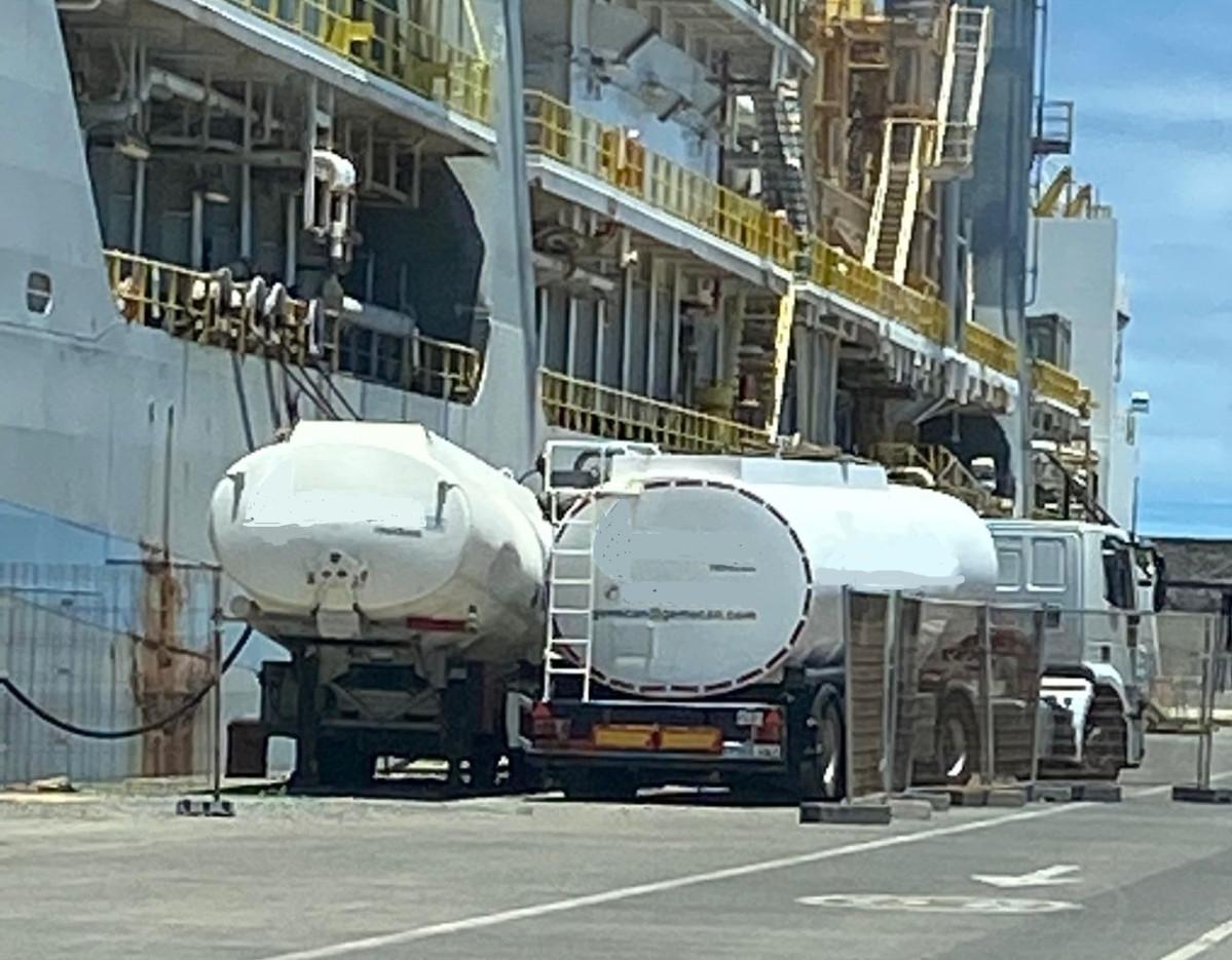 Puerto de Las Palmas   Vertido   marpol IV   1