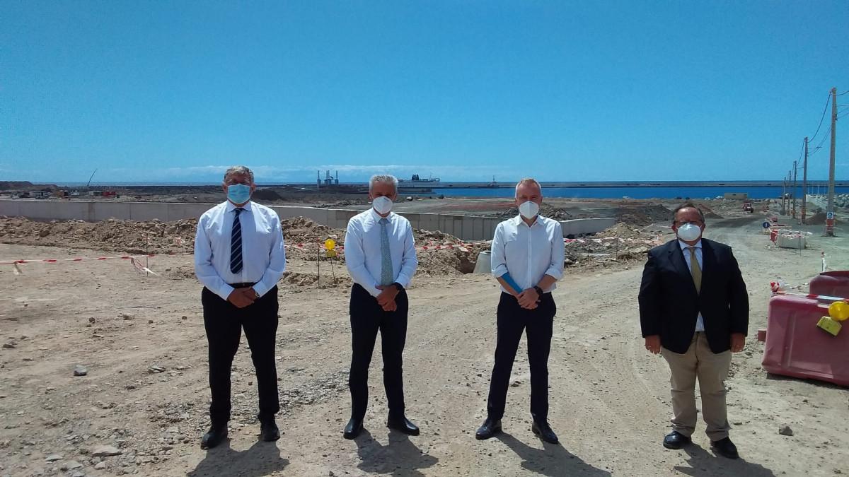 Puertos de Tenerife   visita presidente Puertos del Estado 1