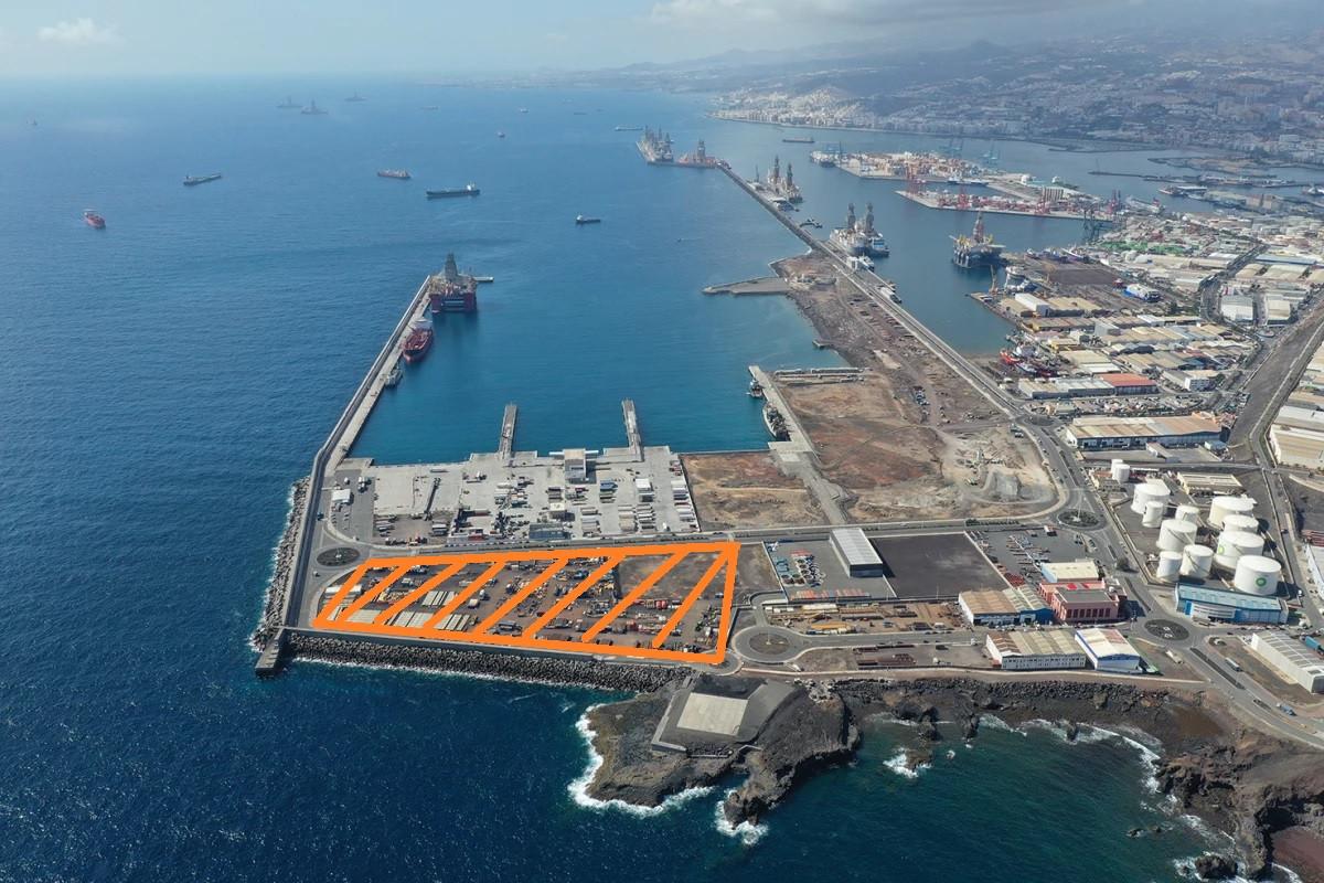 Puerto de Las Palmas   La Esfinge   Ubicaciu00f3n pescanova