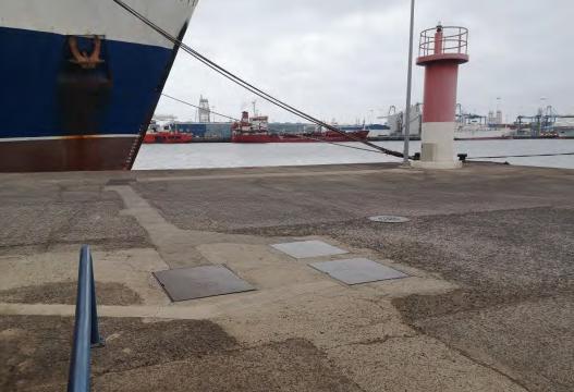 Puerto de Las Palmas   Detalle Muelle Grande