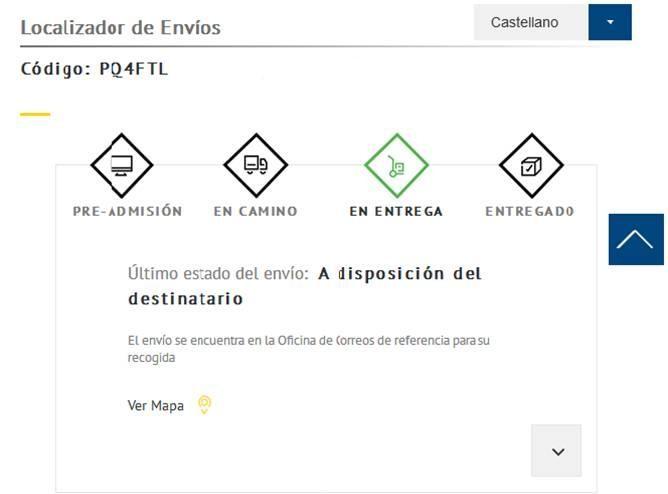 2c385f0026 CORREOS estrena un nuevo localizador de envíos con más información útil para  los clientes