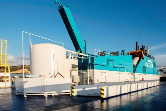 Bale ria y gas natural fenosa llevan a mallorca el primer for Oficinas gas natural fenosa madrid